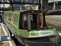 Cruiser stern 58' 2003 Liverpool narrow boat, fully fitted for cruising.