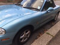Mx5 1.8 12 months MOT, new break pads, much loved car, sale due to the need of a larger vehicle.