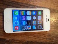 APPLE IPHONE 4S WHITE, 32GB, ON EE