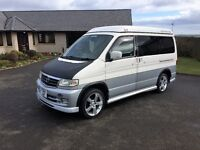 Amazing Mazda Bongo Auto Free Top Campervan with full side conversion and many extras