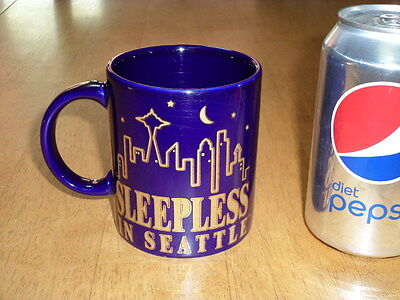TOM HANKS & MEG RYAN Talking picture- SLEEPLESS IN SEATTLE, Ceramic Coffee Cup,TriStar Pic