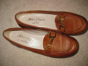 ROBERT CLERGERIE LEATHER SHOES SIZE 8.5 London Ontario image 1