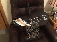 Slazenger tennis racquet.