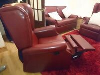 Shackleton three piece suite - two seater settee and 2 reclining chairs