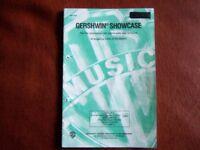Gershwin Showcase 2 part accompanied Choir music books