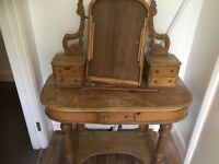 Victorian duchess dressing table project