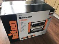 Triton thicknesser (planer) - brand new, box unopened.