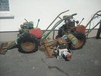 Mayfield Allen Power Scythes Grass Cutters restoration project