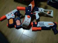 2 x Nerf Super Soaker Thunderstorm with extras + Nerf Super Soaker Scatter Blast