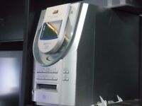 cd/mini disc player no speakers £30