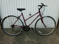 Ladies Raleigh Pioneer Bicycle, Hybrid/Town Style, in Excellent Working Order