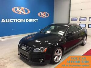 2012 Audi A5 2.0T PREM! S-LINE! SUNROOF! AWD! FINANCE NOW!