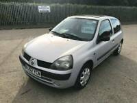 2003 52 renault clio 1.2 drives well