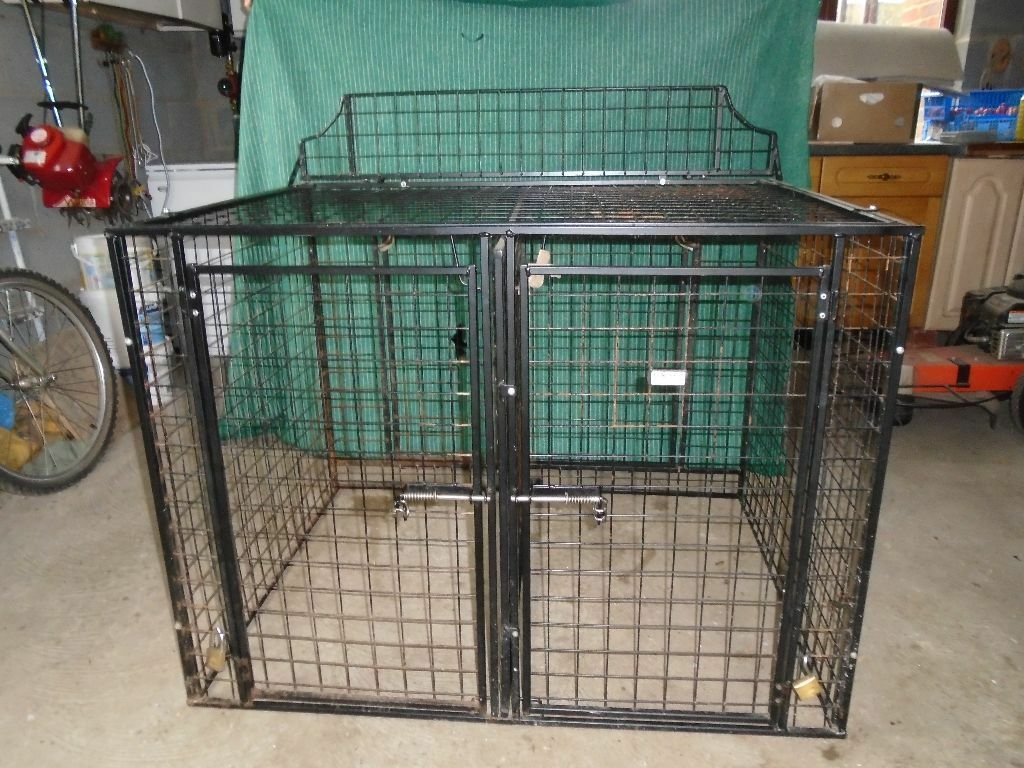 Large Double Dog Crate For Citroen Berlingo Or Similar Van