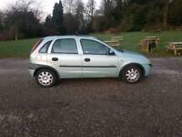 Vauxhall Corsa 12 months mot tidy car low milage ideal first car