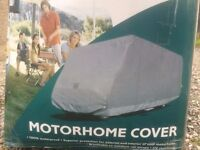Motorhome or Caravan Cover, waterproof, breathable, outdoor, also suit van truck.