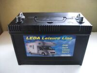 LEDA Leisure Battery SFL110 Sealed For Life - 12v 110ah
