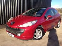 2008 Peugeot 207 1.4 Cielo 3dr 1 Previous Owner Long MOT 2 Keys May Px