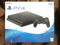 Playstation 4 SLIM 500 GB **BRAND NEW AND SEALED**