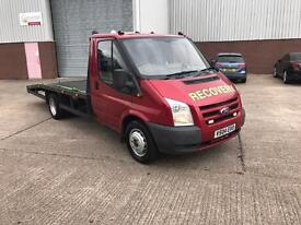 Ford transit recovery truck mk7 converted