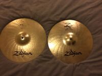 "14"" Zildjian Z Custom Hi Hats"