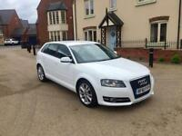 AUDI A3 2.0 TDI SPORT SPORTBACK 2012 (61) LONG MOT RECENTLY SERVICED