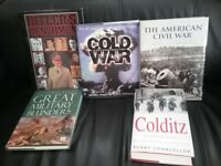 Books on Hitler's Henchmen, The American Civil War and others