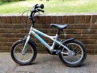 "Boys bike suitable age 3 to 6 - 14"" wheels, lightweight Dawes aluminium frame"