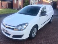 2007 VAUXHALL ASTRA VAN CLUB CDTI, LOW MILE, EXCELLENT CONDITION
