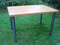 Sturdy table needing TLC