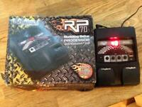 Digitech RP70 multi effects pedal.