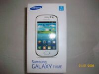 SAMSUNG GALAXY FAME (BOXED WITH PHONE-CASE)