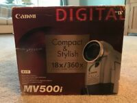 Canon MV500i Camcorder