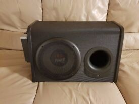 CAR ACTIVE SUBWOOFER JBL 1000 WATT 10 INCH BASS BOX WITH BUILD IN AMPLIFIER SUB WOOFER AMP