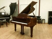 Eavestaff Modern Walnut Baby Grand | Free UK Delivery