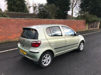 2002 Toyota Yaris cdx 5 doors top of the range