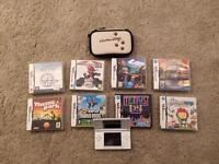 ***Bargain*** Nintendo DS Handheld Console Bundle with 8 Games, Case and More!