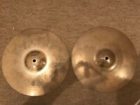 """Zildjian A 13"""" Custom Hi Hat Cymbals - RRP £245"""