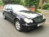 Mercedes C180 Auto Estate Low miles. Just been Serviced & Moted