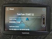 TomTom car sat nav START 52 EUROPE XL 5 inch with Europe maps