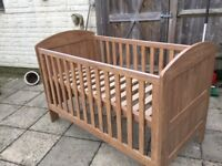 Mamas and Papas cot bed good condition