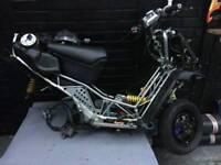 Italjet dragster 180 with log book