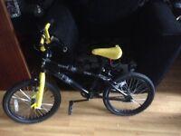 Boys bmx bike £20 Ono and puo
