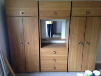 Brown Wardrobe available in Bath