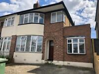 4 bedroom semi-detached house with off street parking for 3 cars