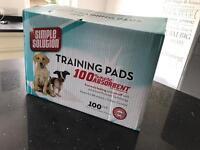 Brand new box of Puppy Training Pads