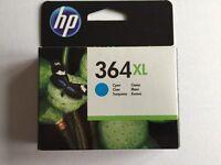 HP 364XL Cyan (CB323EE) - Original HP, New/Unused Ink Jet Cartridge - Warranty ends Apr 2018