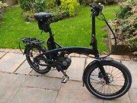 Nearly New Tern Vektron S10 Folding Bosch Powered Electric bike