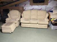 Free sofa/chair/foot stool