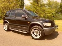 2003 Kia Sportage Cheap 4x4, 76k, 12 Months MOT, Brand New Tyres, Leather